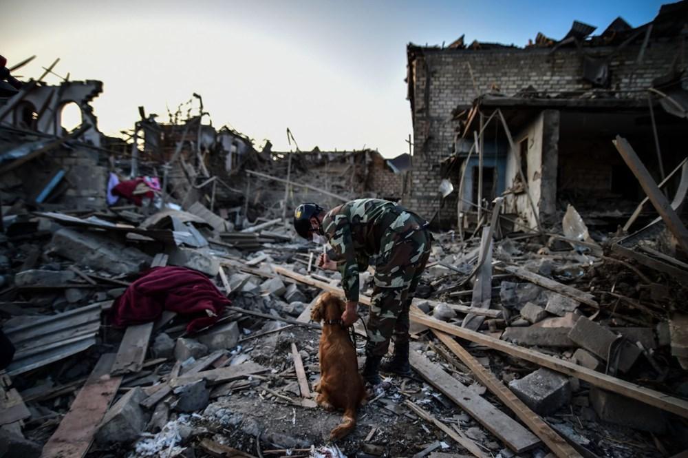 Ermenistan'ın Gence'ye füze saldırısının şiddeti gün ağarınca ortaya çıktı - 15