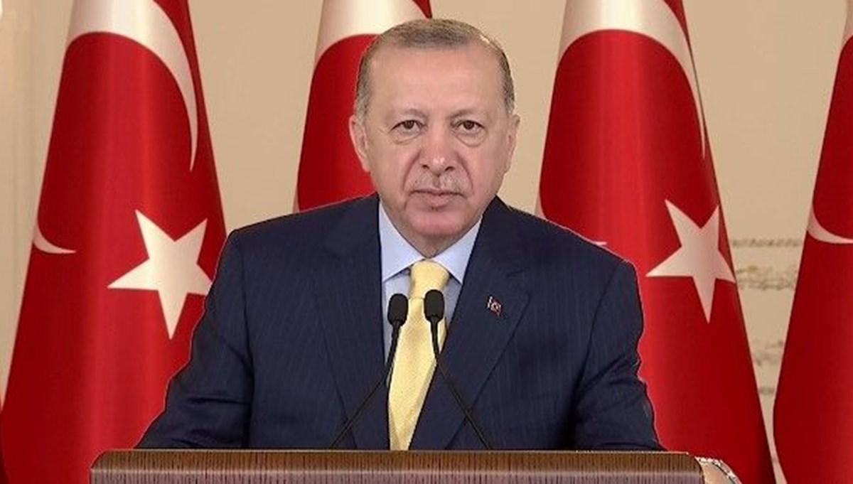 SON DAKİKA:Cumhurbaşkanı Erdoğan konuşuyor
