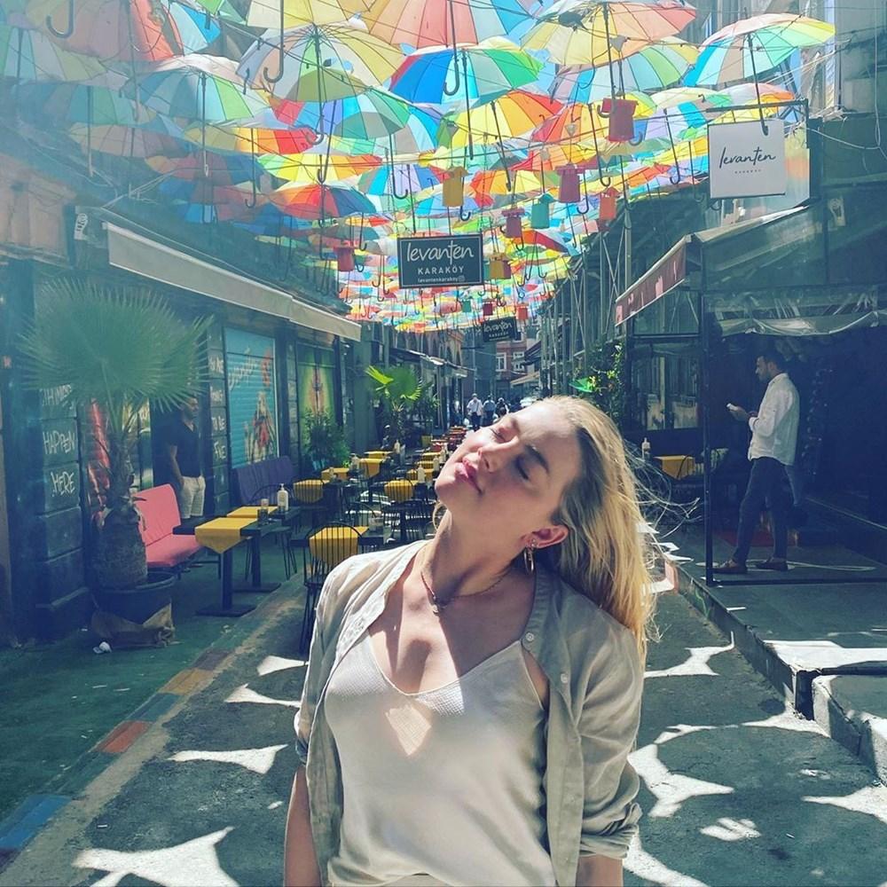 Amber Heard'dan Türkiye'ye veda paylaşımı: Hoşça kal demek çok zor - 7