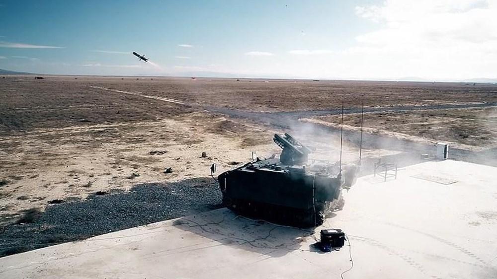 TSK'nın yeni roketatarı 12'den vurdu - 150