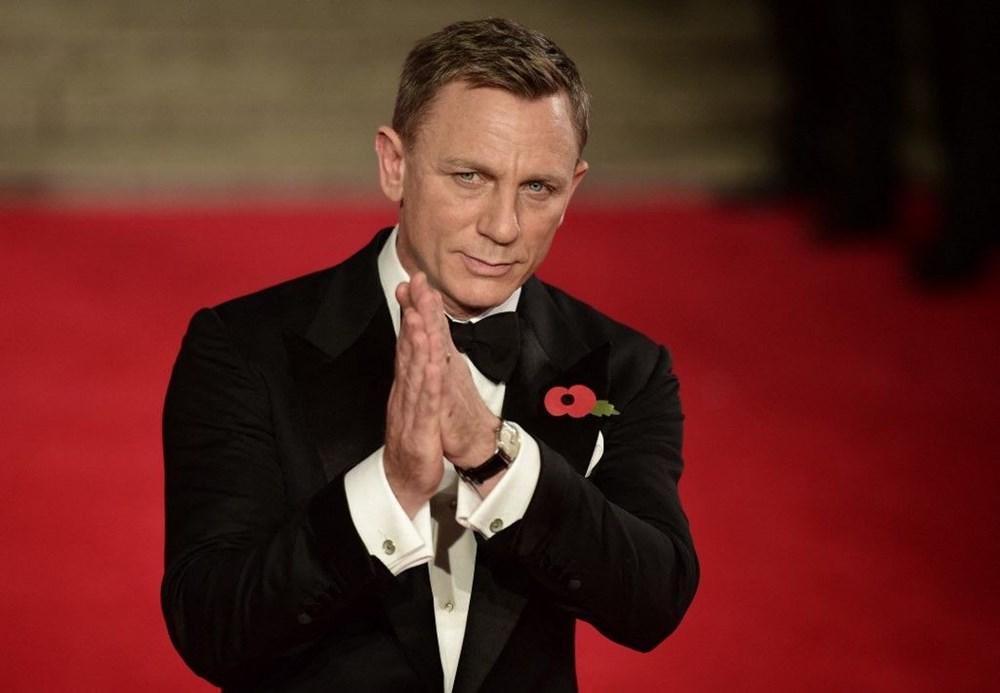 Daniel Craig en çok kazanan oyuncular listesinde zirveye yerleşti: Film başına 100 milyon dolar - 1