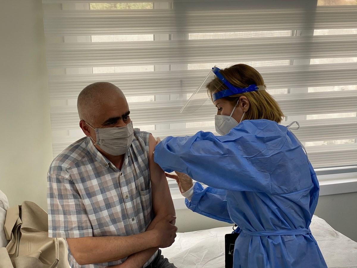 Organize sanayi bölgelerinde mobil aşı uygulaması başladı