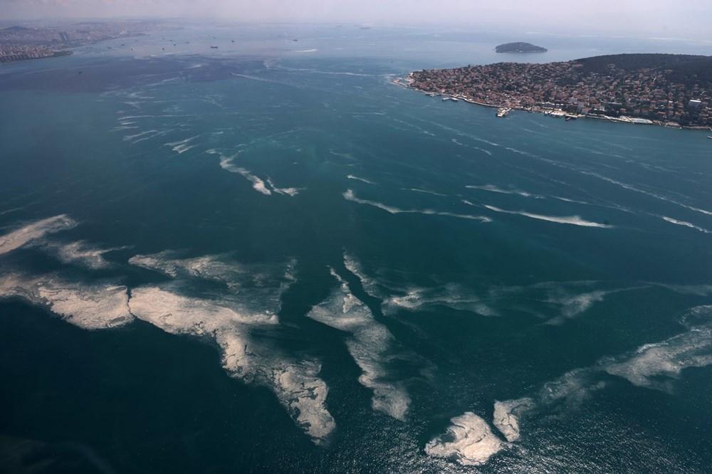 Müsilaj havadan görüntülendi: Deniz salyası her yerde - 4