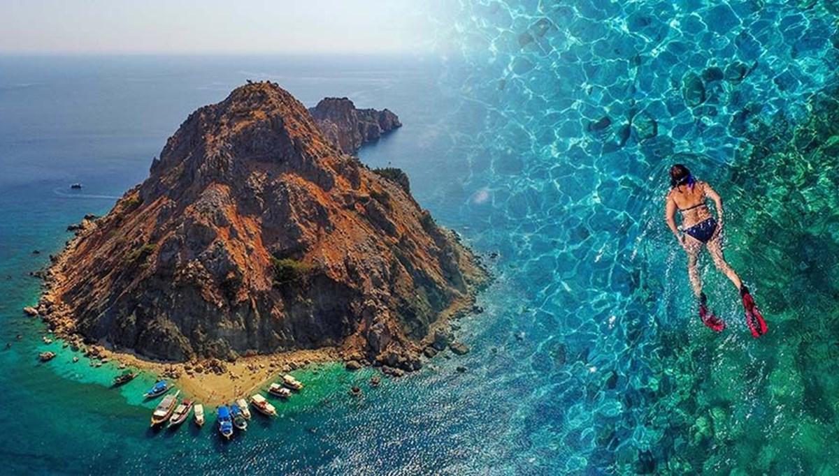 Maldivler'e benzetilen Suluada'ya turist akını