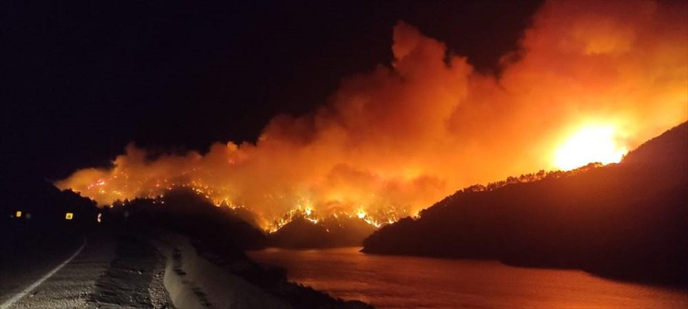 Antalya, Adana, Mersin,Muğla, Osmaniye ve Kayseri 'de orman yangınları - 26