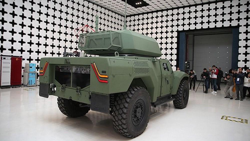 Dijital birliğin robot askeri Barkan göreve hazırlanıyor (Türkiye'nin yeni nesil yerli silahları) - 149