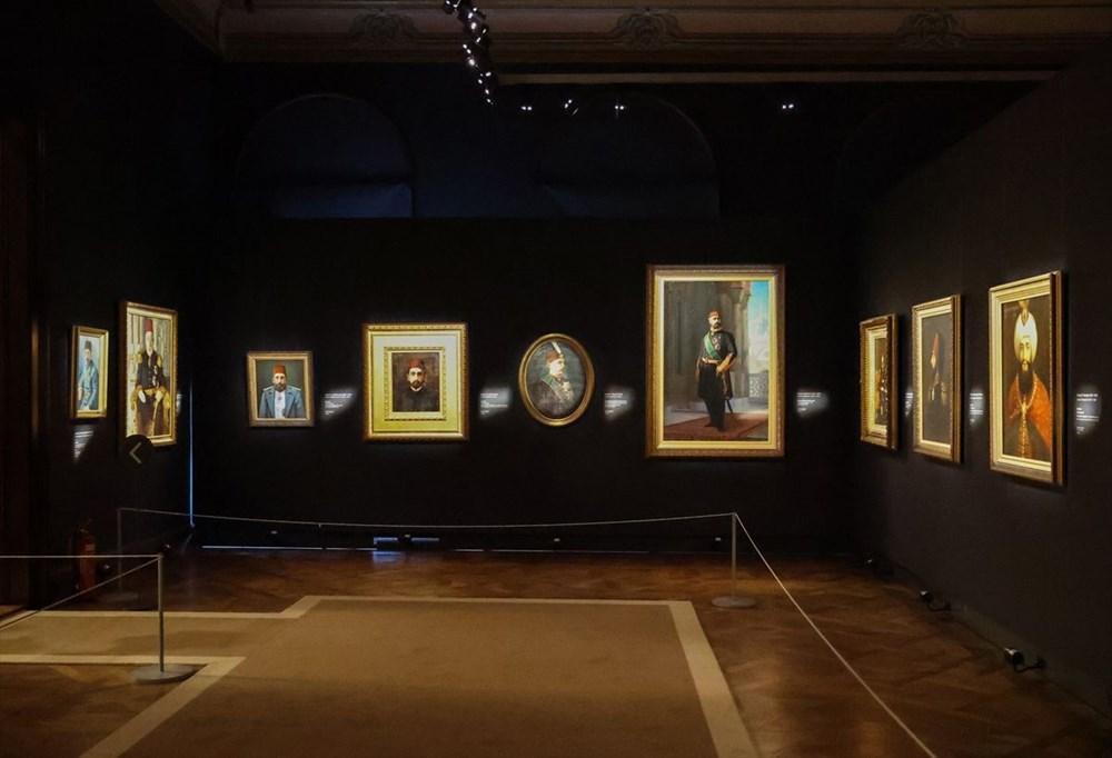 553 eser Osmanlı saray resminin tek temsilcisi Milli Saraylar Resim Müzesi'nde - 3