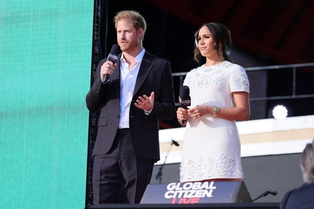 Meghan Markle ve Prens Harry Global Citizen etkinliğinde alay konusu oldu - 6