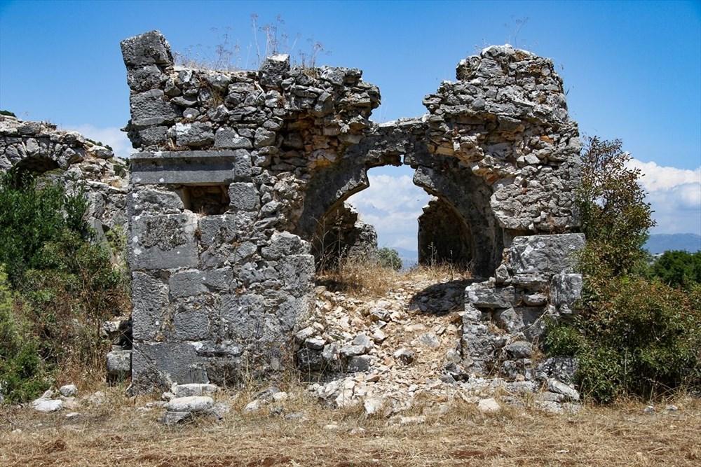 2 bin yıllık Sidyma Antik Kenti içinde yerleşik hayat - 14