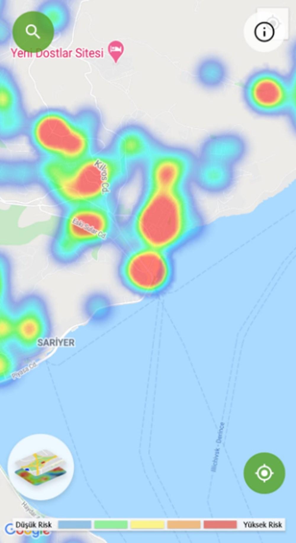 Corona haritası kızarıyor (İstanbul'un en güvenli ilçeleri) - 18