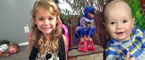 Çocuklarla hayatın sıkıcı geçmeyeceğini kanıtlayan fotoğraflar