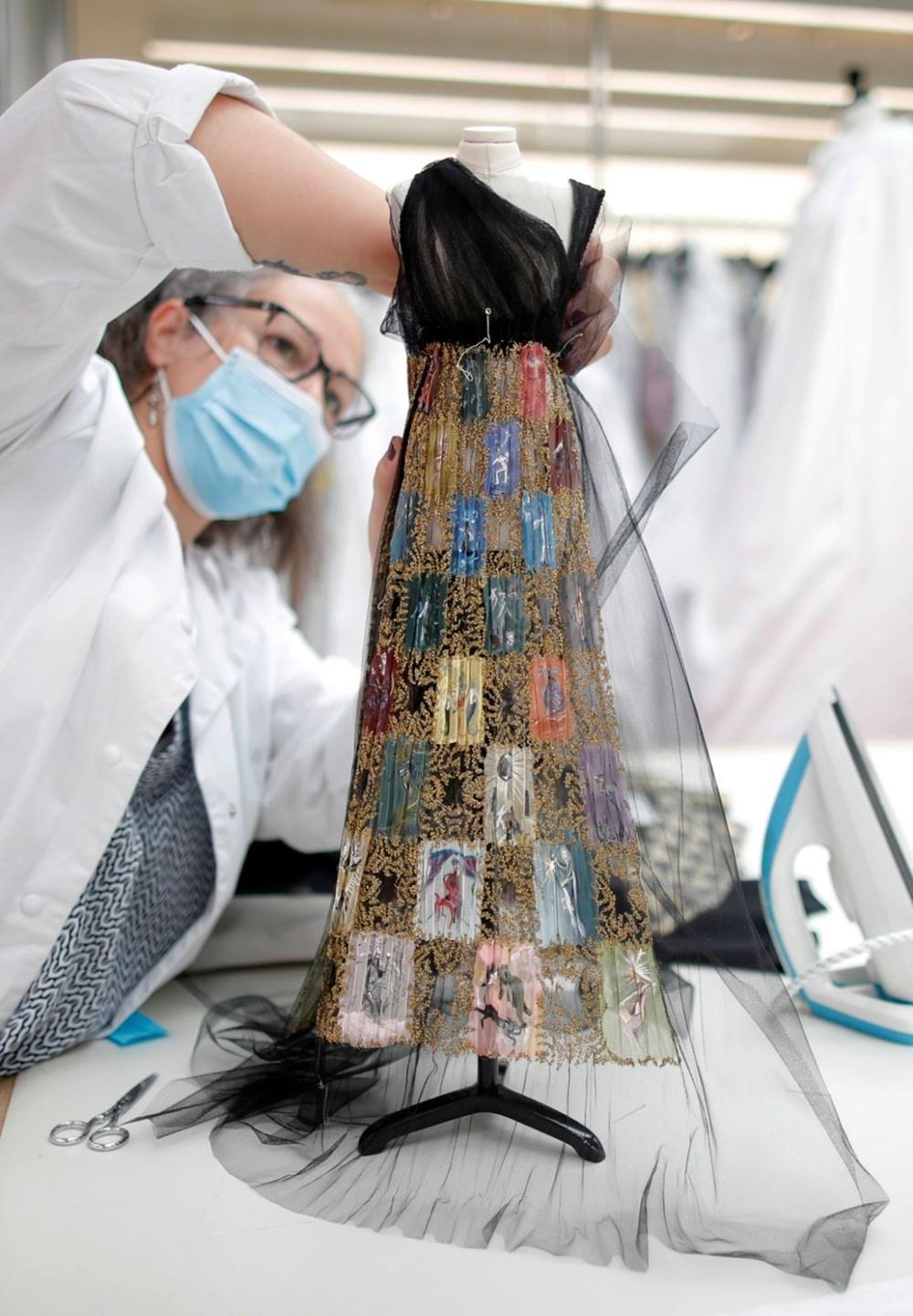 Dior'dan Dijital Moda Haftası için minyatür elbise tasarımları - 10