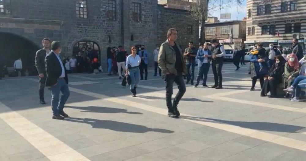 Diyarbakır'ın tarihi mekanları dizi çekimleri için doğal plato oldu - 6