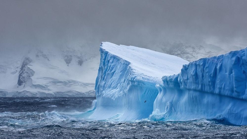 Dünyanın en büyük buzdağı Antarktika'dan koptu: Neredeyse İstanbul büyüklüğünde - 5