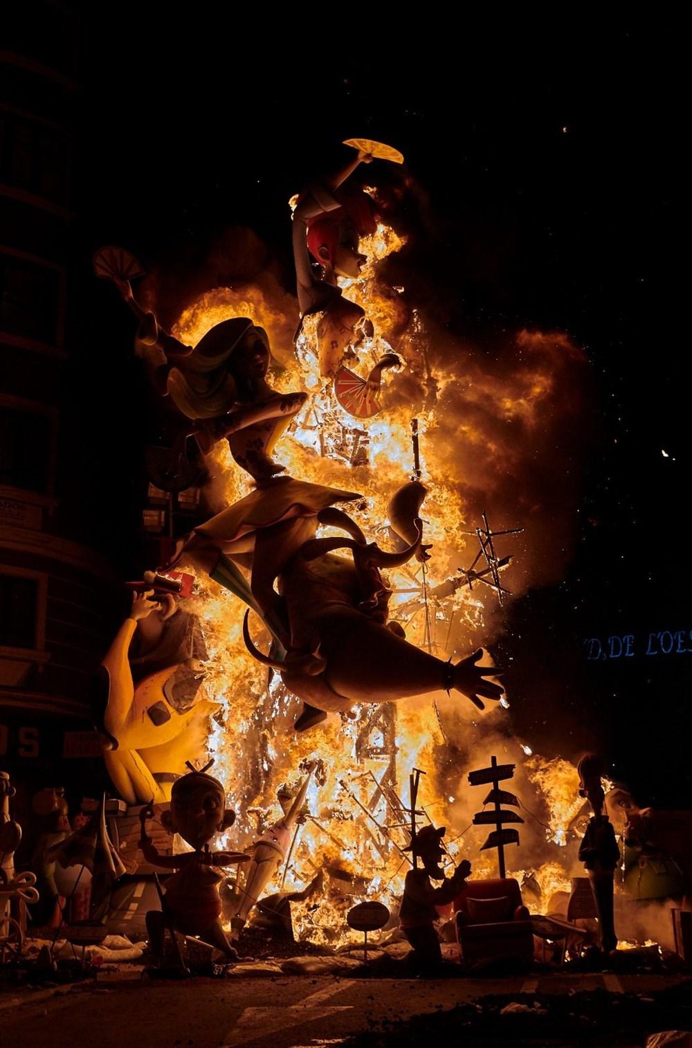 Avrupa'nın en ateşli festivali 'Las Fallas' - 9