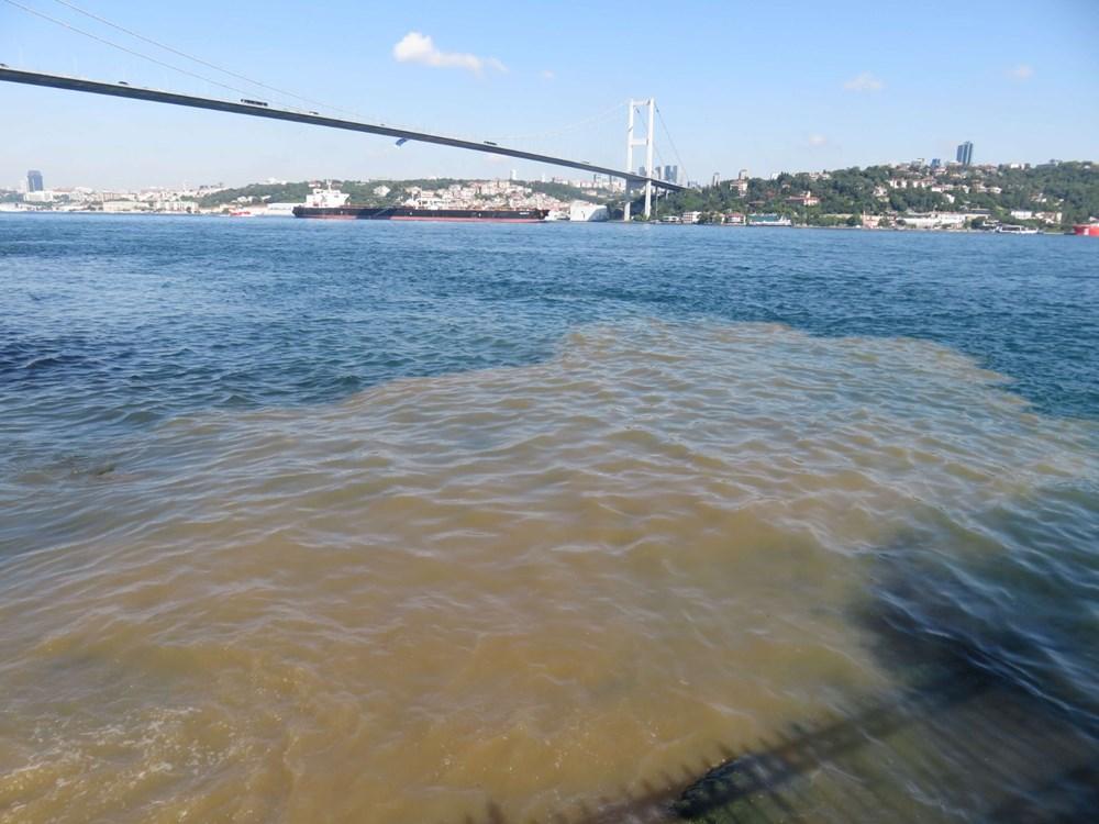 İstanbul Boğazı kahverengi oldu - 3