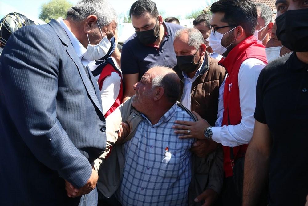 Martir Muammer Yiğit mengucapkan selamat tinggal pada perjalanan terakhirnya di Tokat - 1