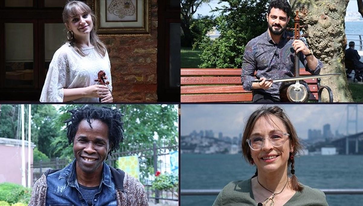 Türkiye'de yaşayan göçmen sanatçılar Dünya Mülteciler Günü için bir araya geldi