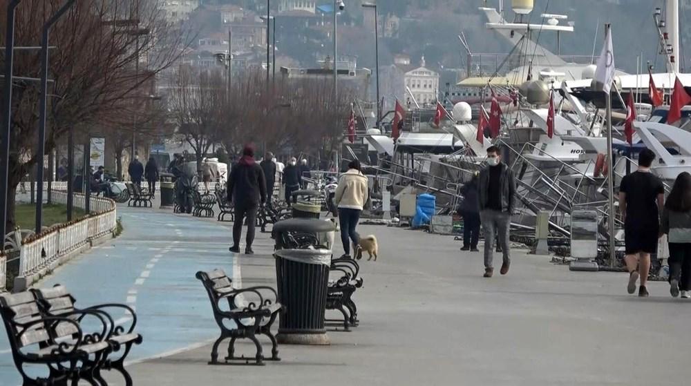 Kısıtlama yokmuş gibi! İstanbul'da sahiller doldu taştı - 1