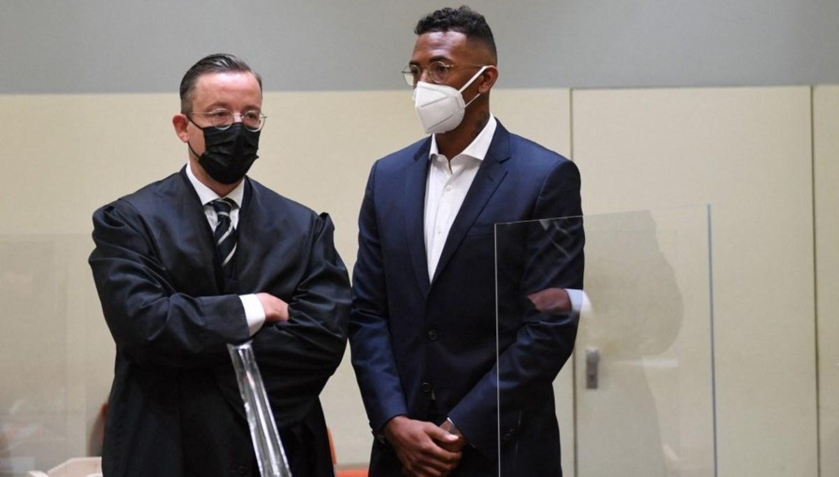 Yıldız futbolcu Jerome Boateng'e kız arkadaşına şiddetten ceza