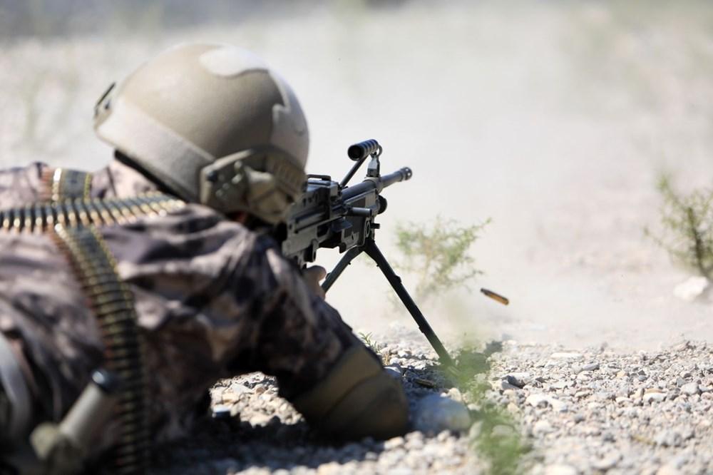 Özel Harekat'tan 35 derece sıcakta zorlu eğitim: Yerli silah 'Çılgın kız' dikkat çekti - 6