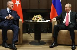 Cumhurbaşkanı Erdoğan ve Rusya Devlet Başkanı Putin'den açıklama (Soçi'de 3 saatlik görüşme)