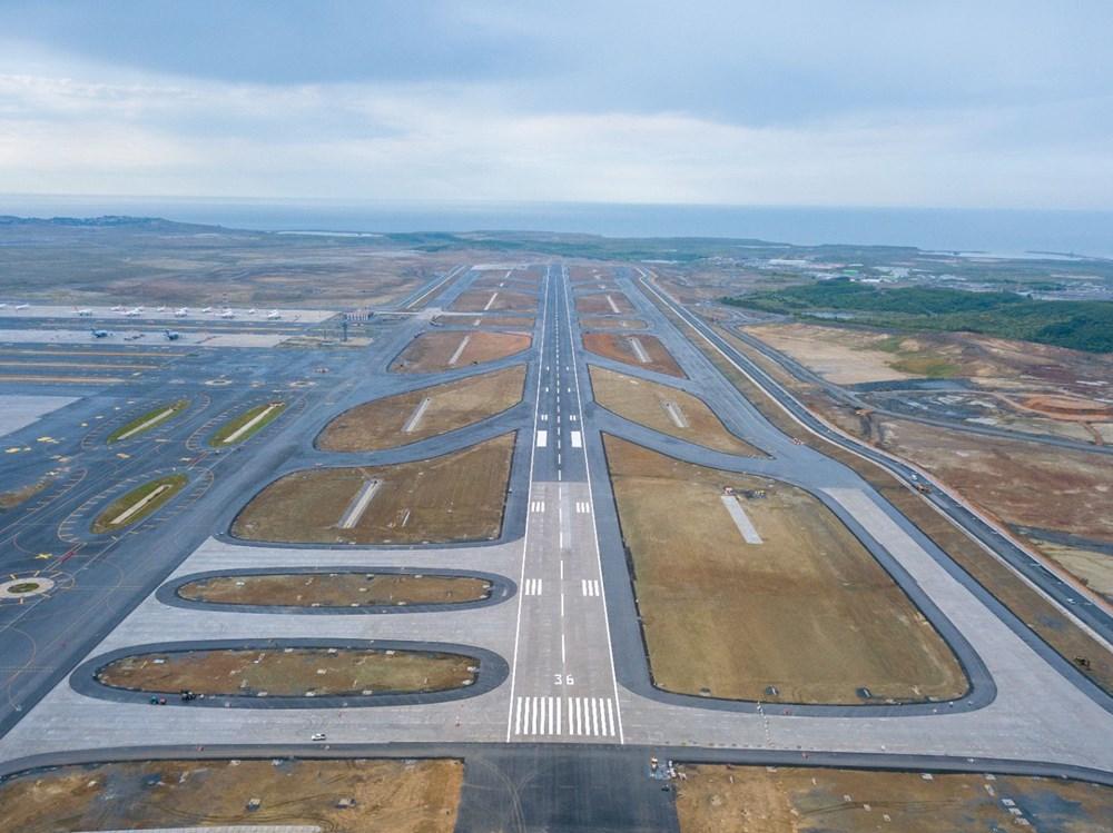 İstanbul Havalimanı'nda 3. bağımsız pist, Devlet Konukevi ve cami hizmete açılıyor - 2