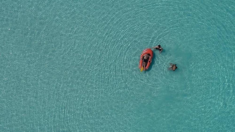 Bakan açıkladı: Salda Gölü'nün 'Beyaz Adalar' bölgesinde göle ve plaja giriş yasaklandı - 9