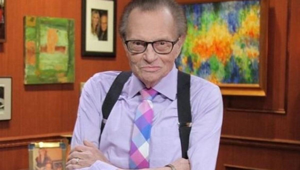 Larry King corona virüse yakalandı