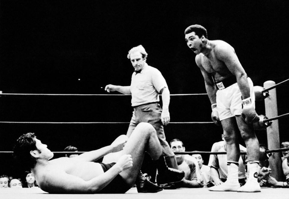 Muhammed Ali, kariyeri boyunca çıktığı 61 maçın 56'sını kazandı.