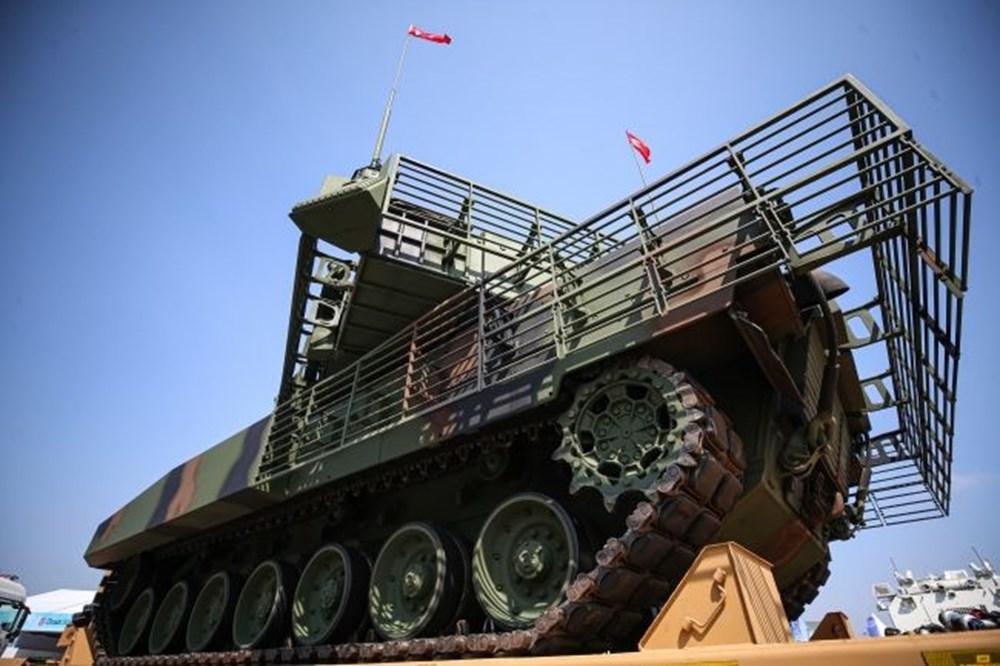Dijital birliğin robot askeri Barkan göreve hazırlanıyor (Türkiye'nin yeni nesil yerli silahları) - 62