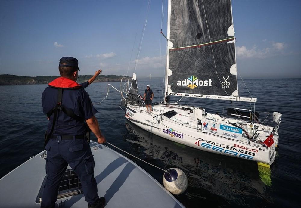 Yelkenci Tolga Pamir, rekor için Türkiye'nin 4 denizini boydan boya geziyor - 4
