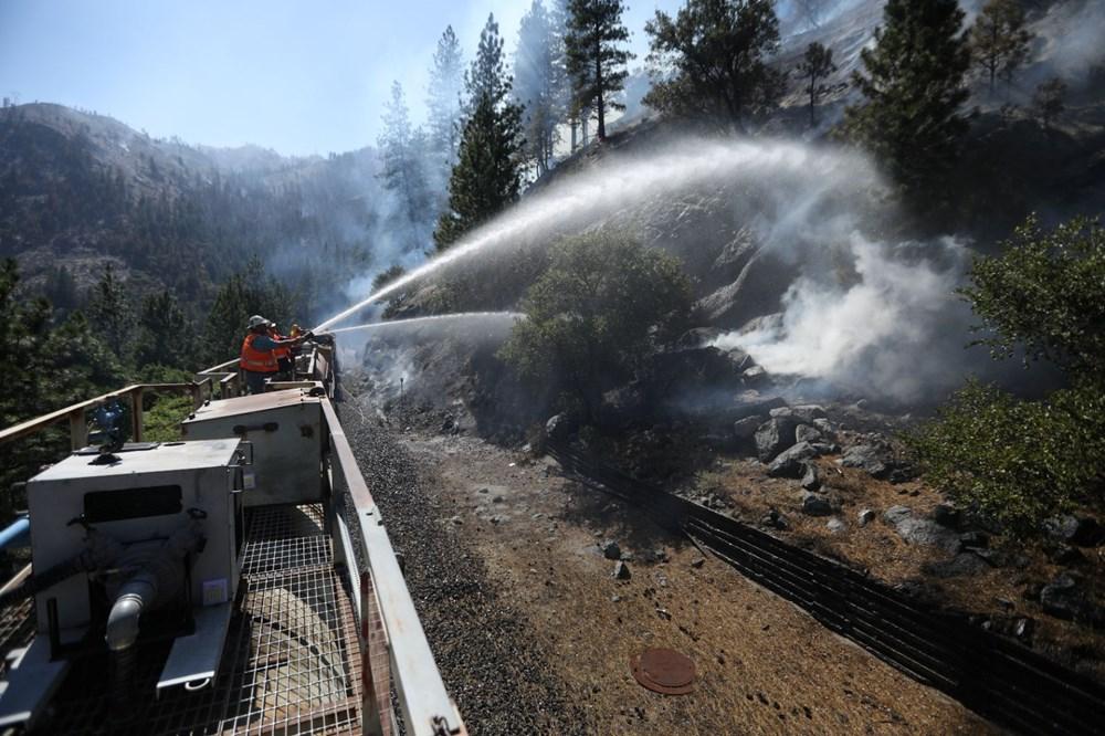 ABD'deki yangın 82 kilometreye yayıldı - 6
