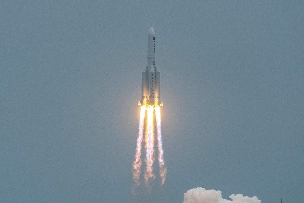 Çin'in uzaya gönderdiği roket kontrolden çıktı: Her yere düşebilir - 8