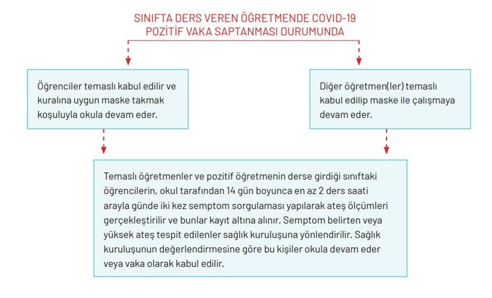 Milli Eğitim Bakanlığı okullar için Covid-19 rehberini yayımladı - 5