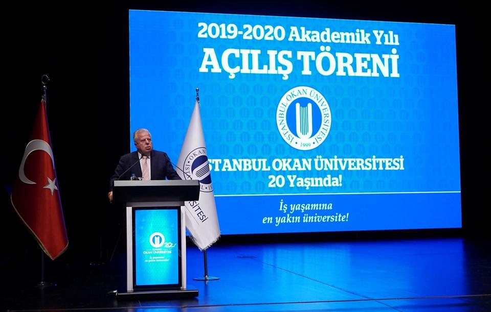 İstanbul Okan Üniversitesi Rektörü Mustafa Koçak