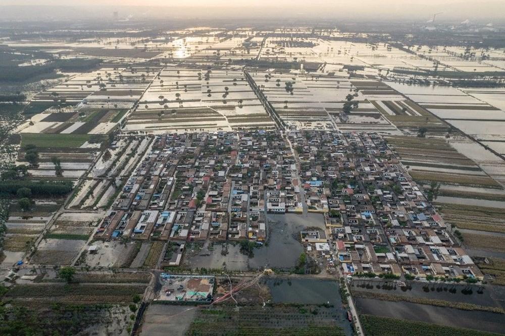 Çin'de sel felaketi: 15 can kaybı - 6