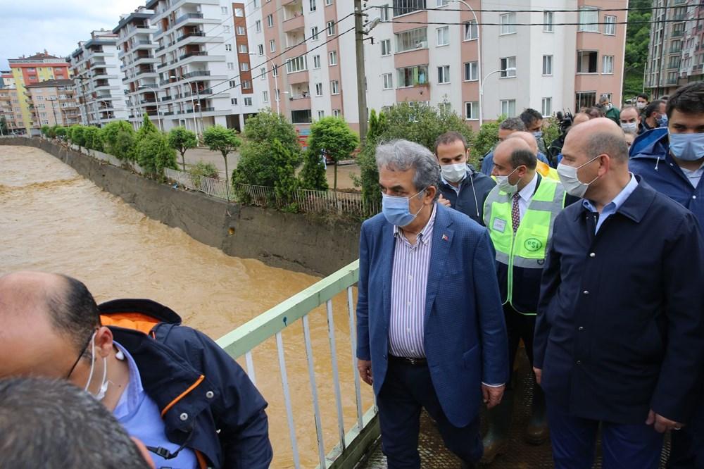 Şiddetli yağış Rize'yi de vurdu: 2 can kaybı - 10