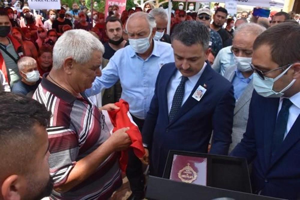 Muğla'da 'orman şehidi' törenle son yolculuğuna uğurlandı - 37