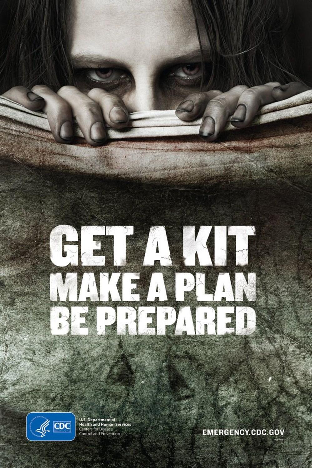CDC'den 'Zombi Hazırlık' genelgesi: Bir kit alın, bir plan yapın, hazırlıklı olun - 2