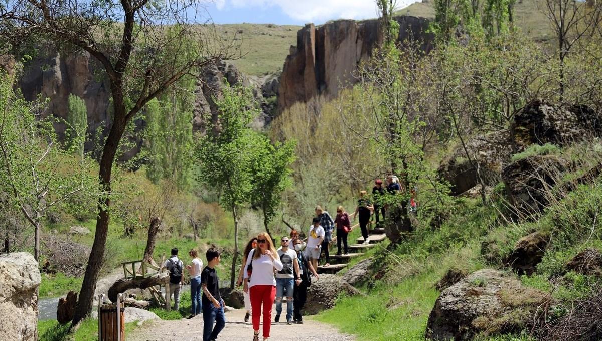 'Kapadokya'nın incisi' Ihlara Vadisi turistlere kaldı