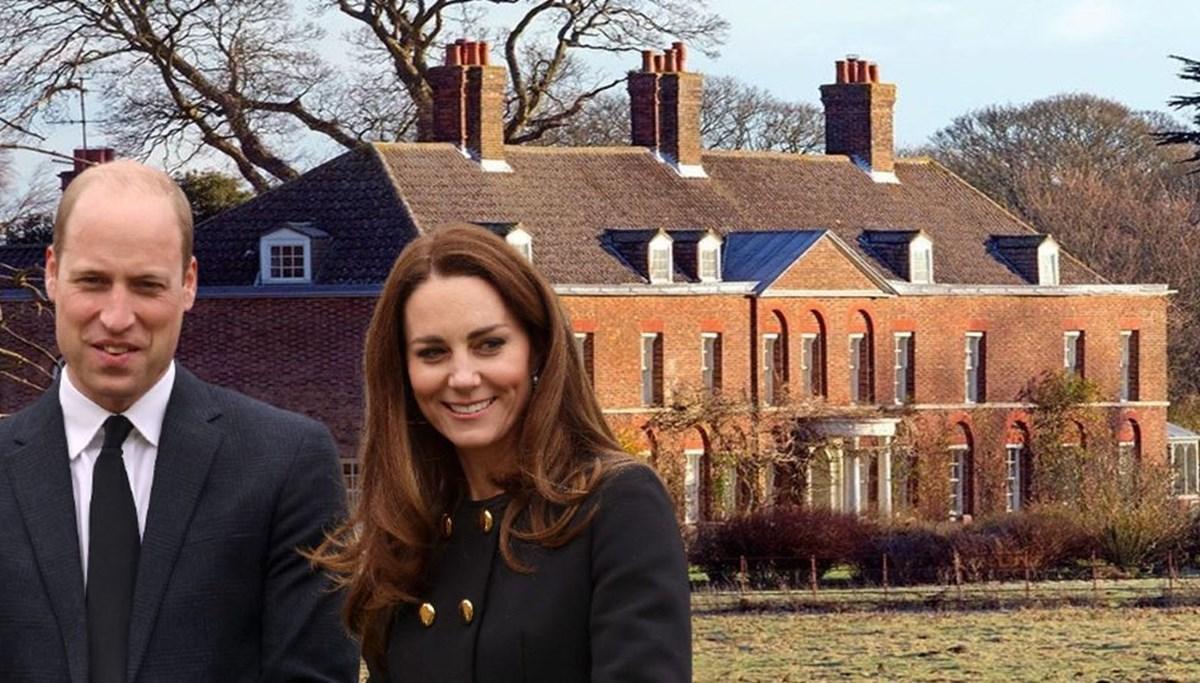 Prens William ve eşi Kate Middleton'ın malikanesine Denizli mermeri