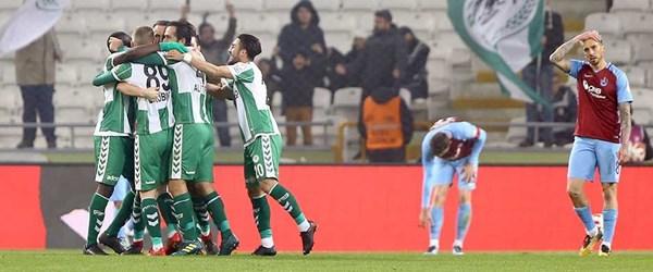 Konya tek golle Fırtına'yı geçti!
