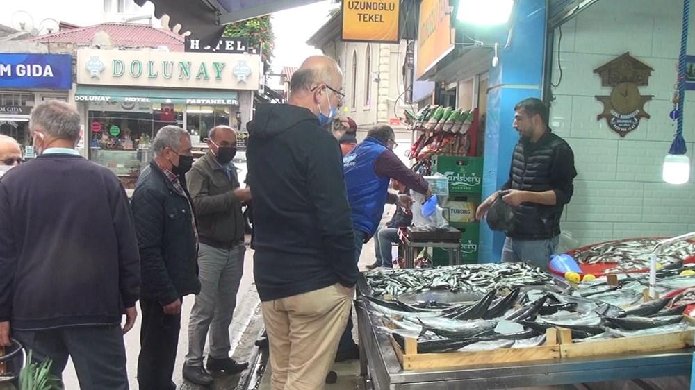 Karadeniz'de fırtına nedeniyle balık fiyatları katlandı - 6