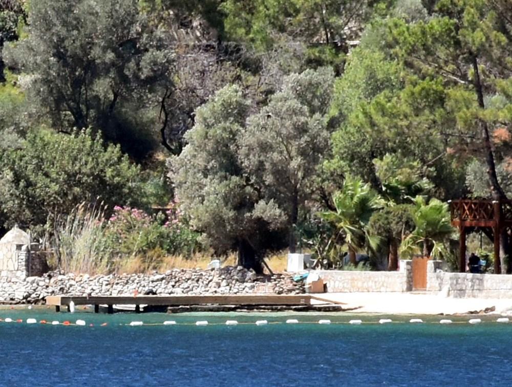 Şahan Gökbakar'ın villasının olduğu koydaki iskele için belediyeye 'kaldırılsın' yazısı - 5