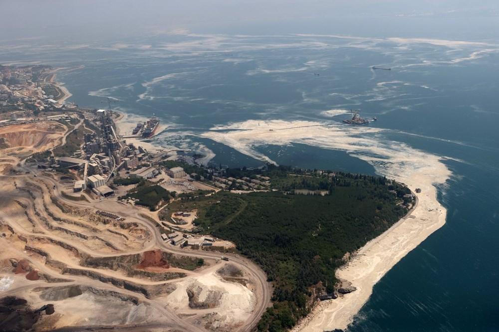 Müsilaj havadan görüntülendi: Deniz salyası her yerde - 9