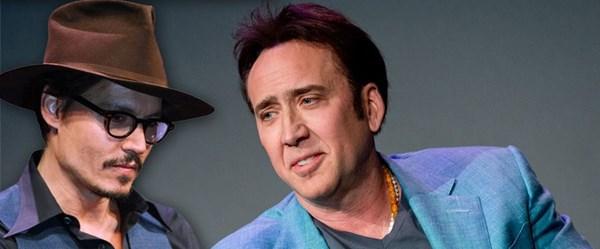 Nicolas Cage, Johnny Depp'in kariyerini nasıl değiştirdiğini anlattı