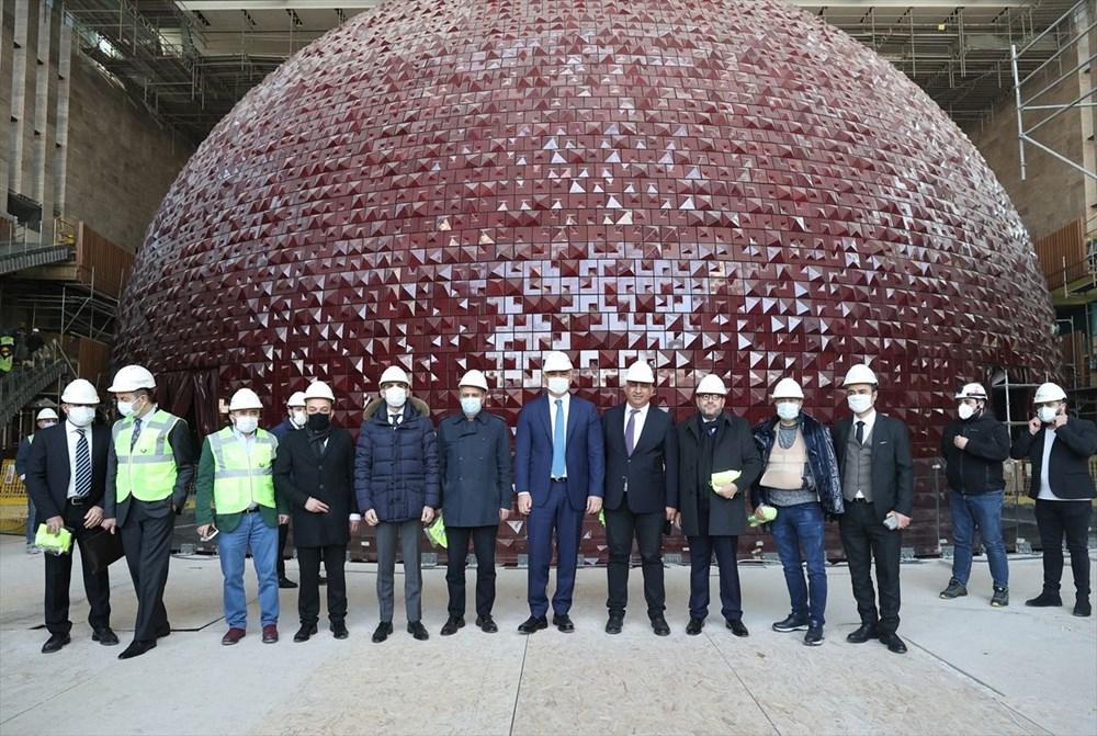 Kültür ve Turizm Bakanı Ersoy: AKM dünyadaki en önemli 10 kültür merkezi arasında yer alacak - 11
