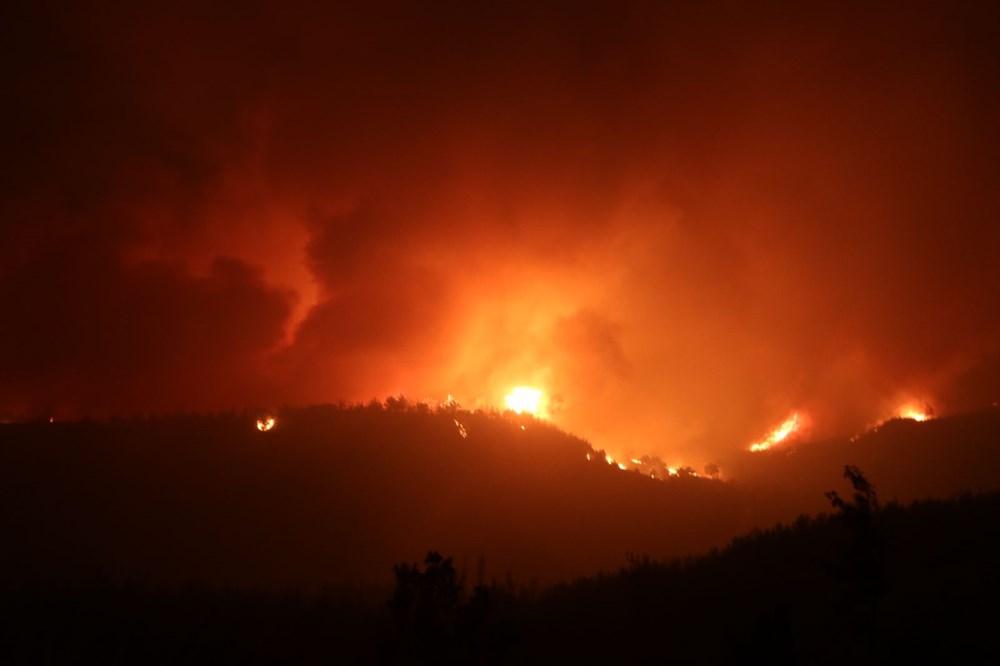 Adana'da orman yangını: 8 köy boşaltıldı - 17