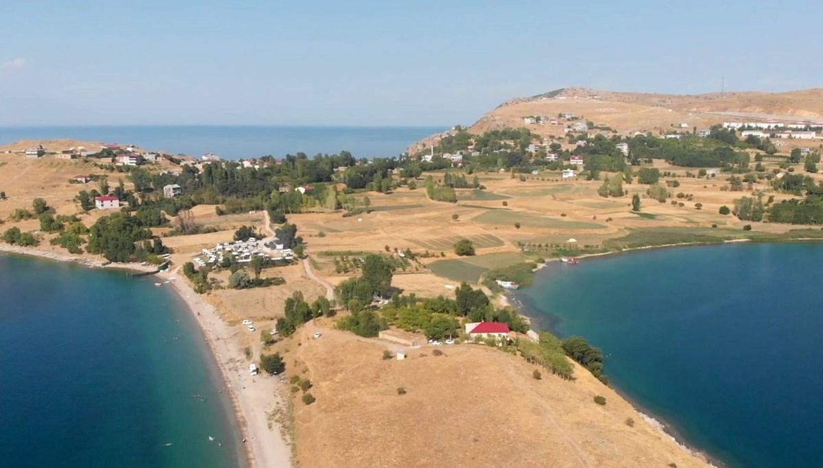 Van Gölü, Akdeniz sahillerini aratmıyor